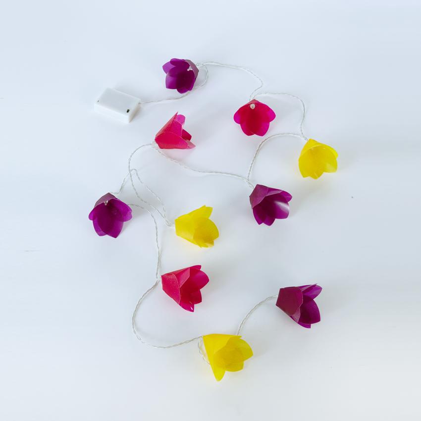 Shimmer Flower String Lights