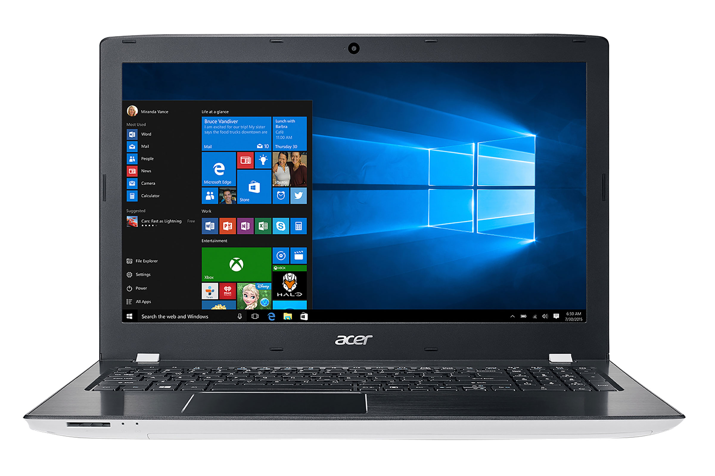 Acer Aspire ES 15 E5-575-516N Intel Core 1TB HDD 8GB RAM 156 Notebook