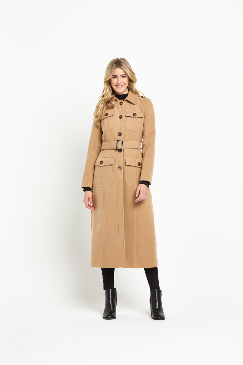 V By Very 70S Maxi Coat