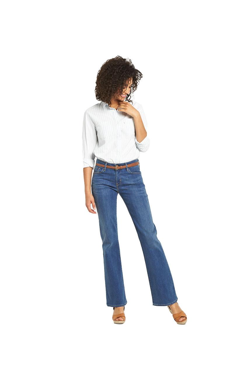 Levis Demi Curve Bootcut Jeans