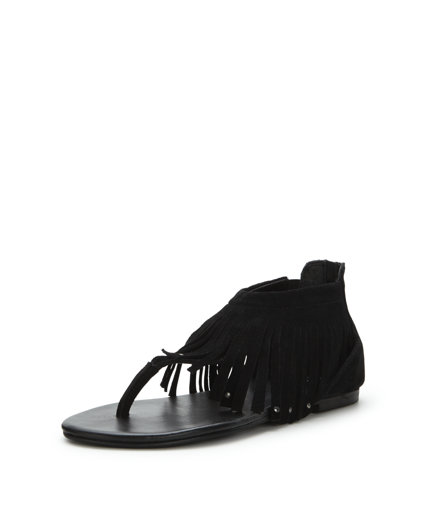 V by Very Victory Fringed Toe Post Sandals.