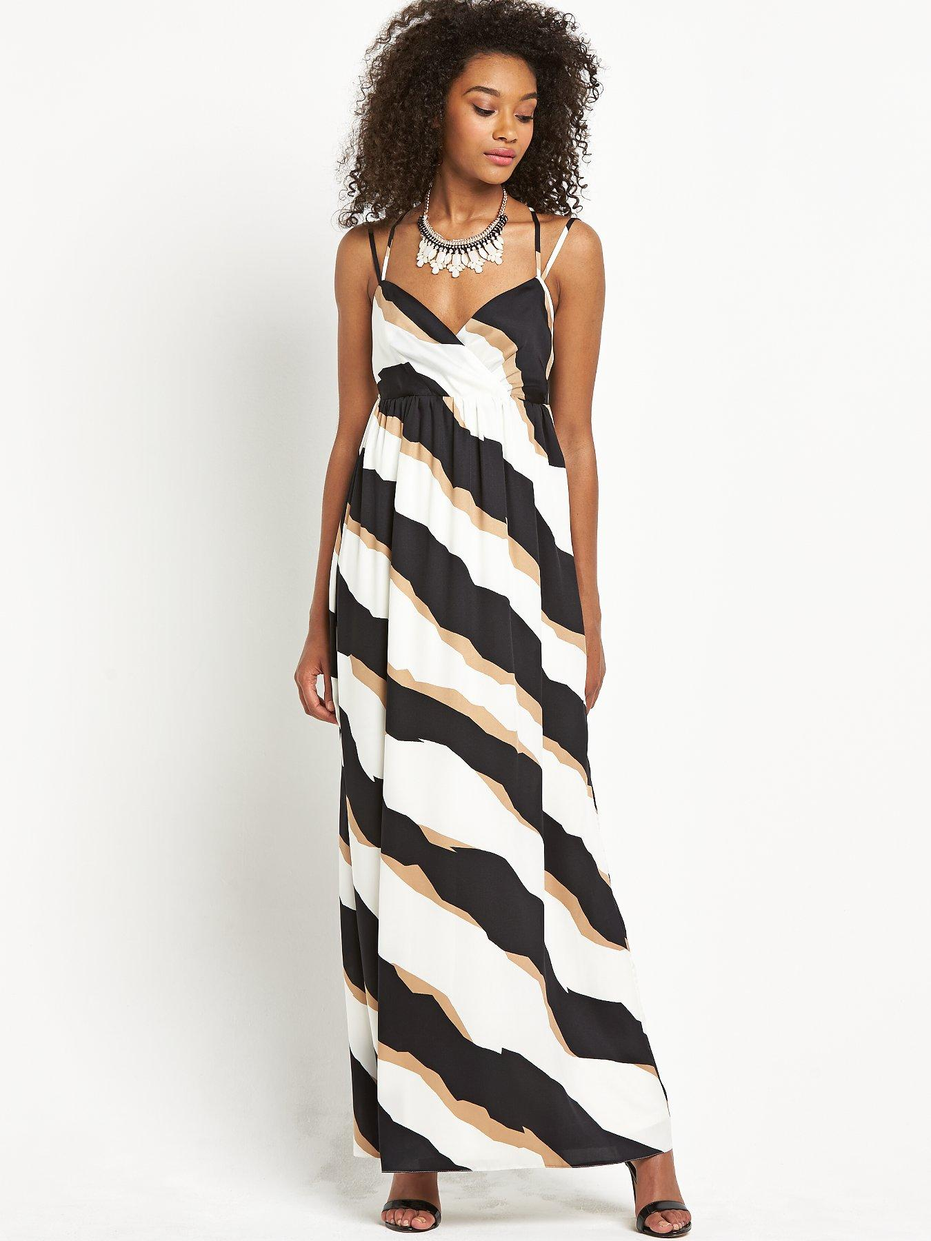 Definitions Stripe Maxi Dress