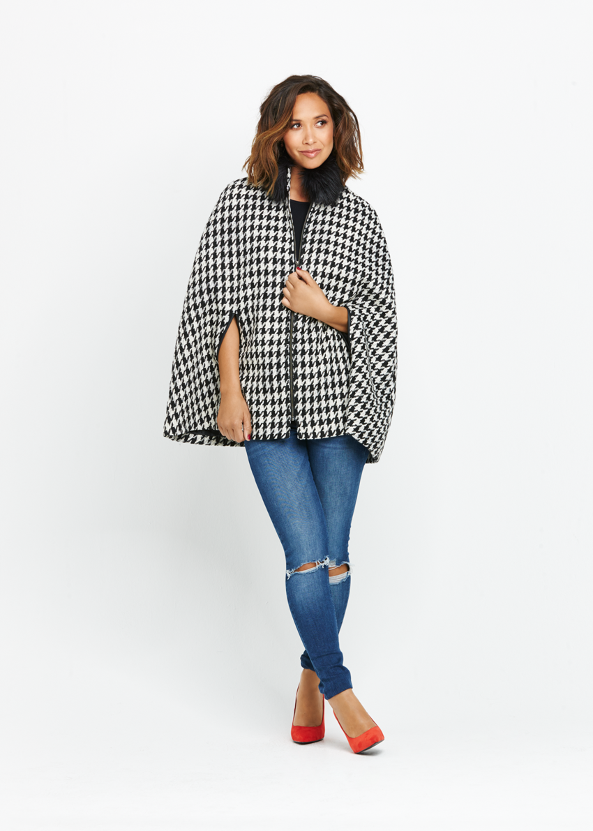 Myleene Klass Dogtooth Coat