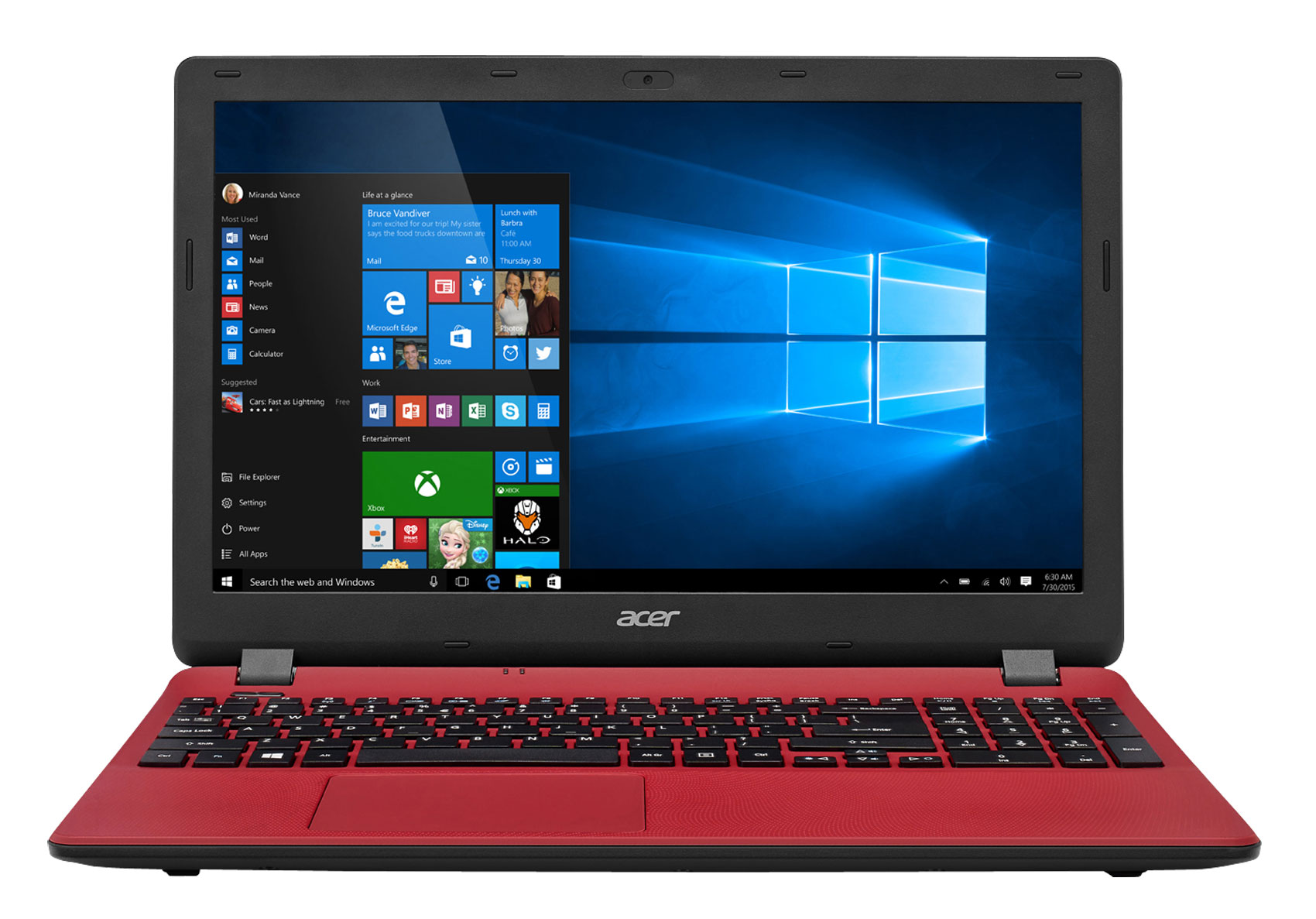 Acer Aspire ES 15 ES157134DU Intel Core i3 128GB SSD 6GB RAM 156 Notebook