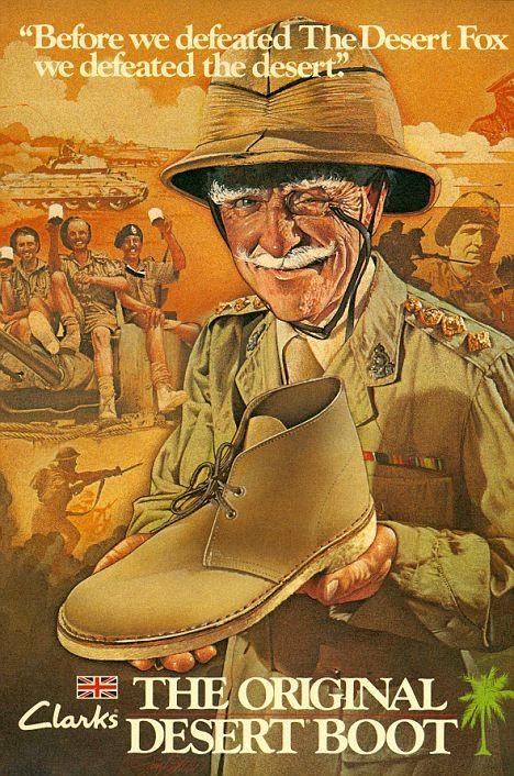 Image result for clarks desert boots 50s