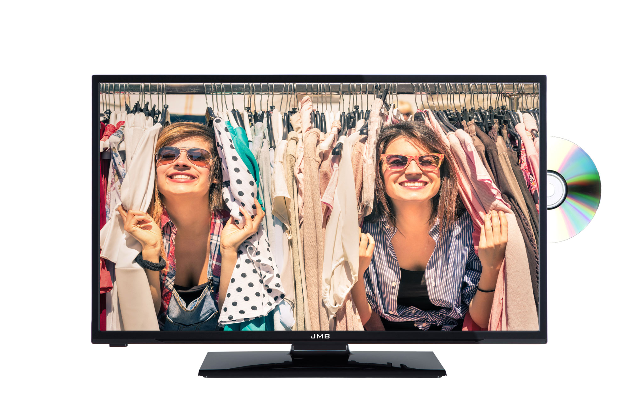 JMB 24 HD Ready Freeview LED TV With DVD