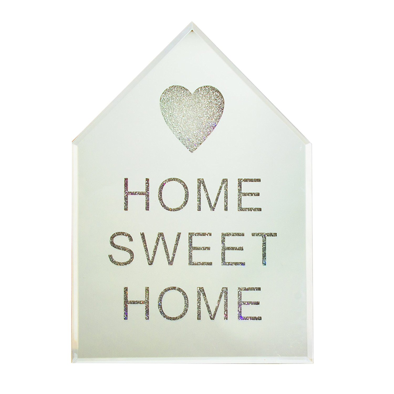 Hestia Home Sweet Home LED Mirror Wall Plaque