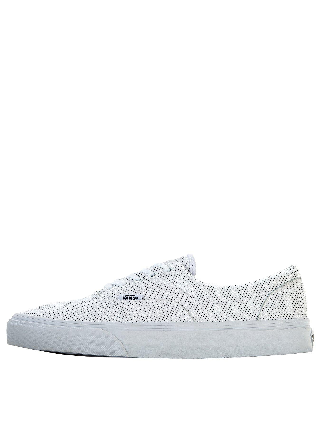 Vans Era Leather Mono Mens Trainers