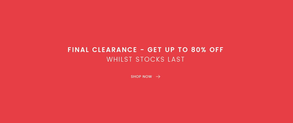 The latest clearance