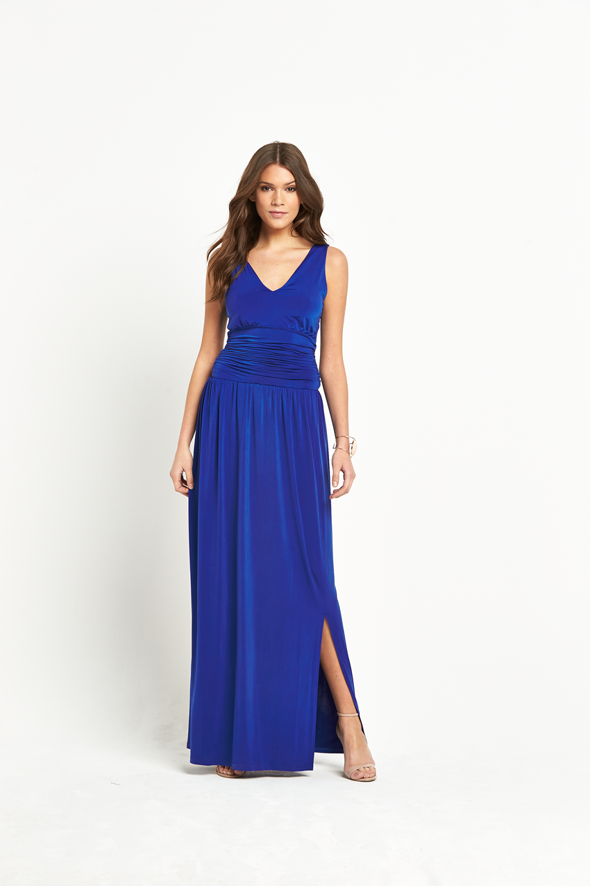Club L Slinky Maxi Dress