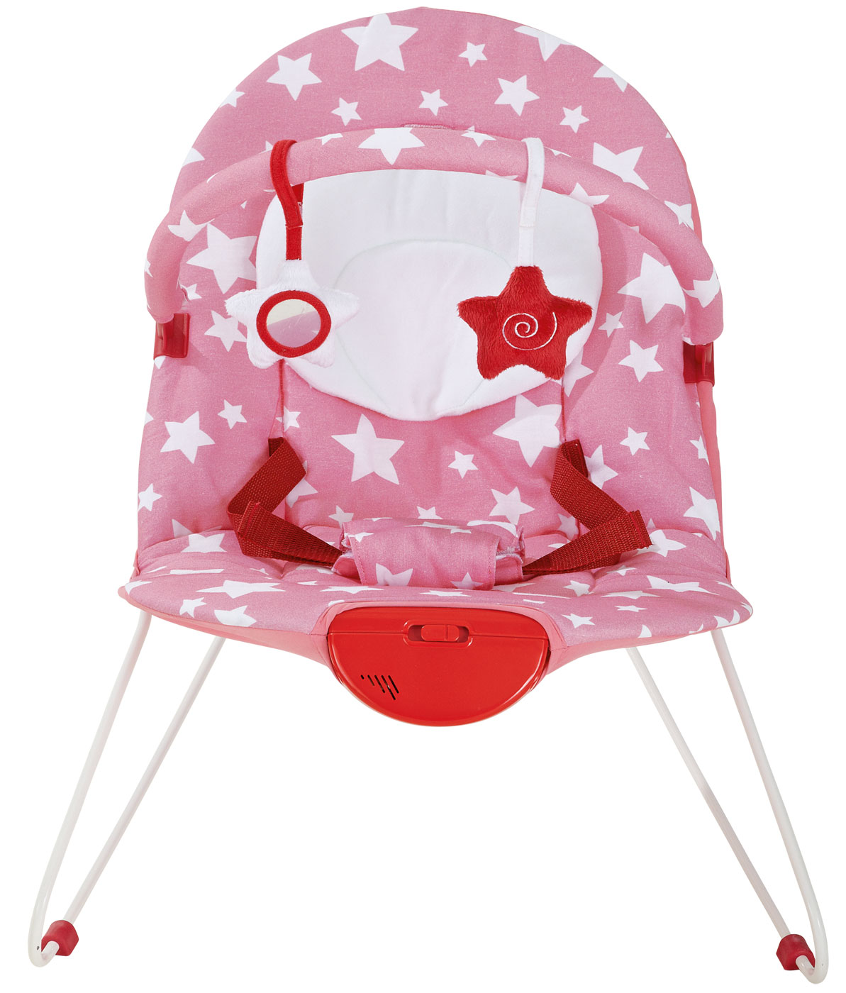 Baby Products Coleen Pink Stars Bouncer