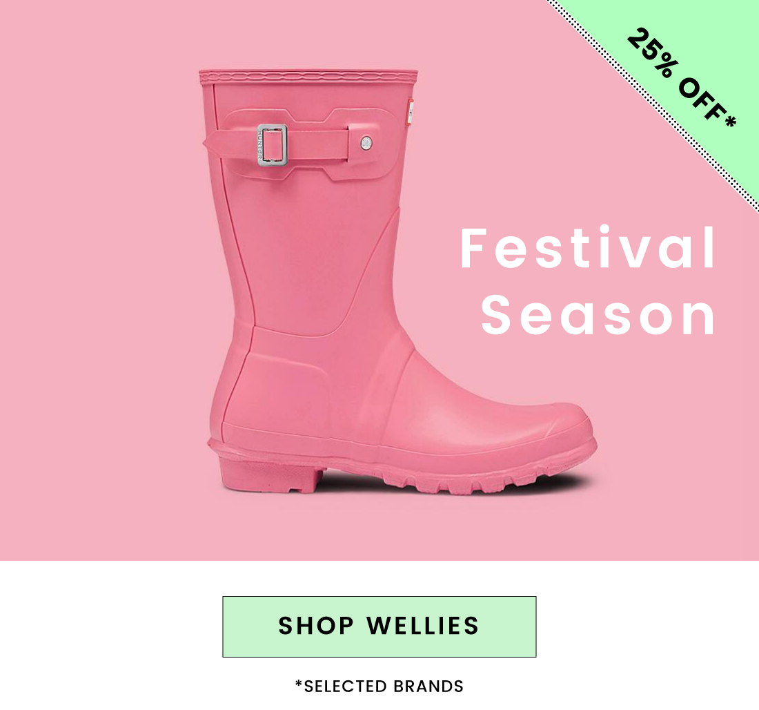 25% off May day offer off ALL Wellies Joules Hunter Barbour