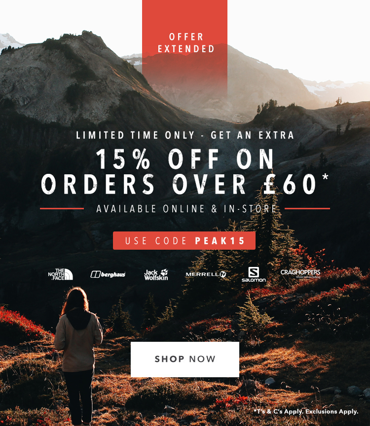 15% Off when you spend £60