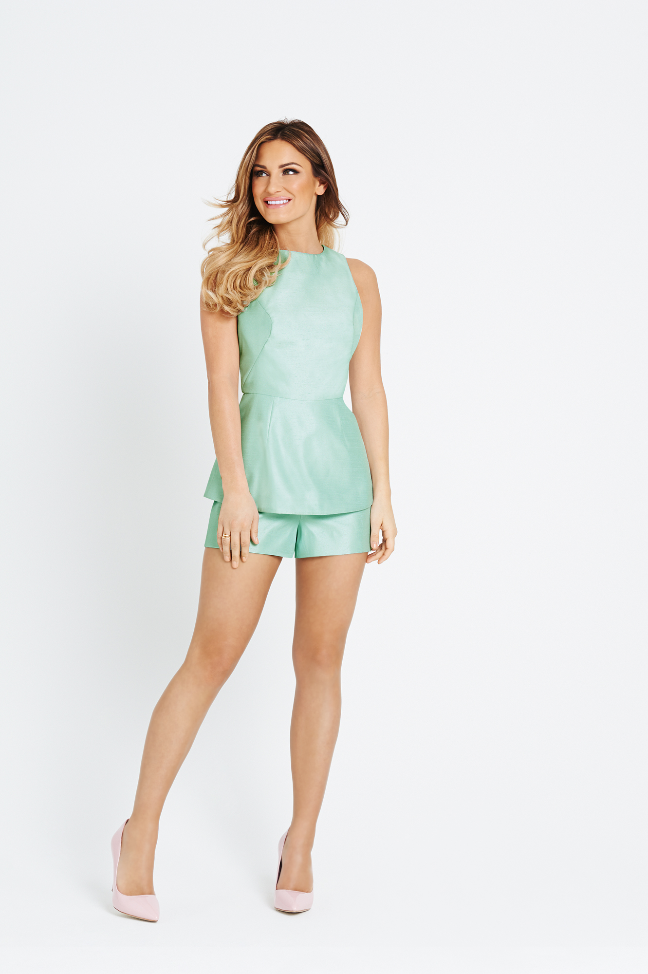 Samantha Faiers Cutout Side Playsuit