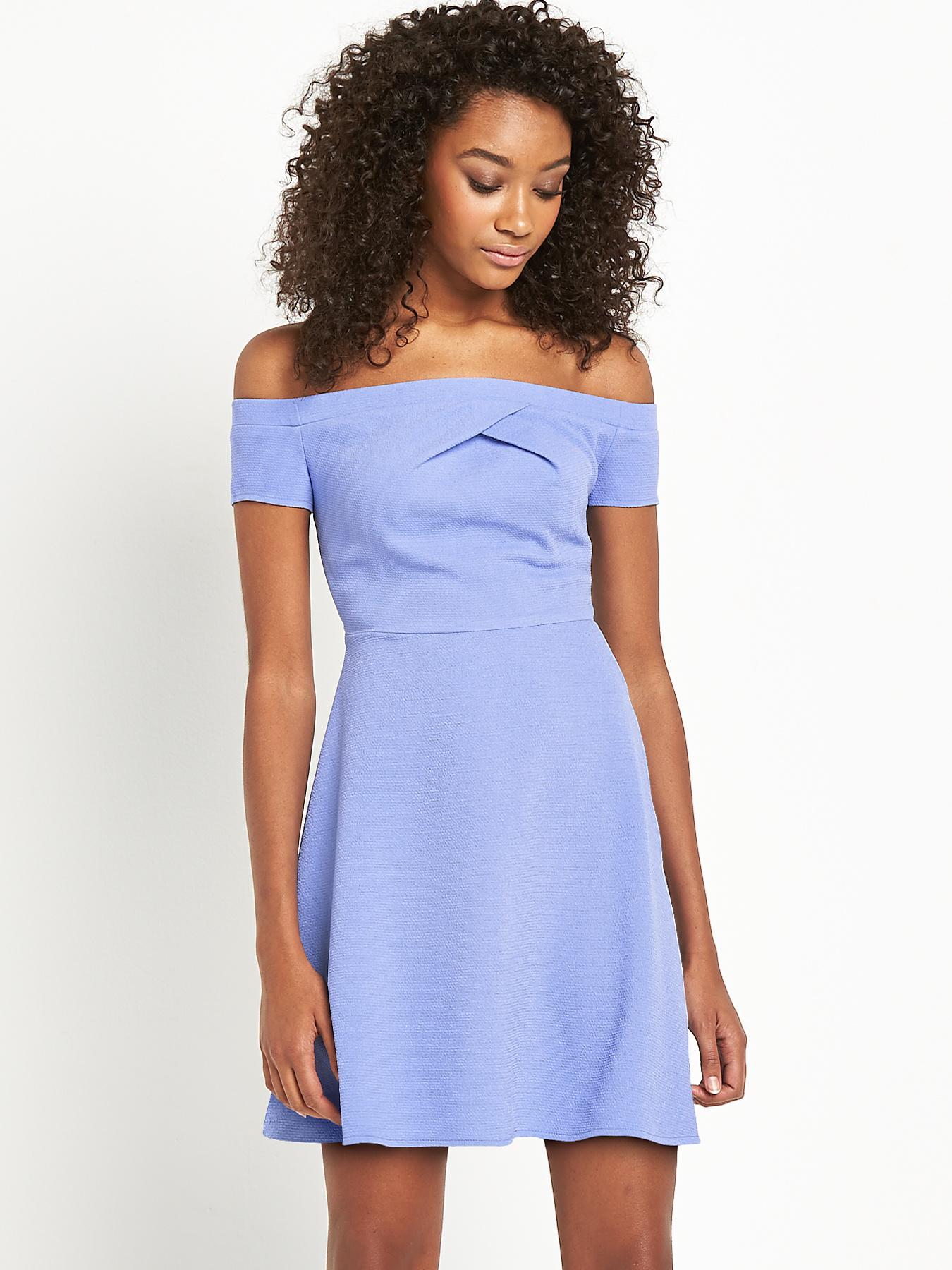 Definitions Bardot Crepe Dress