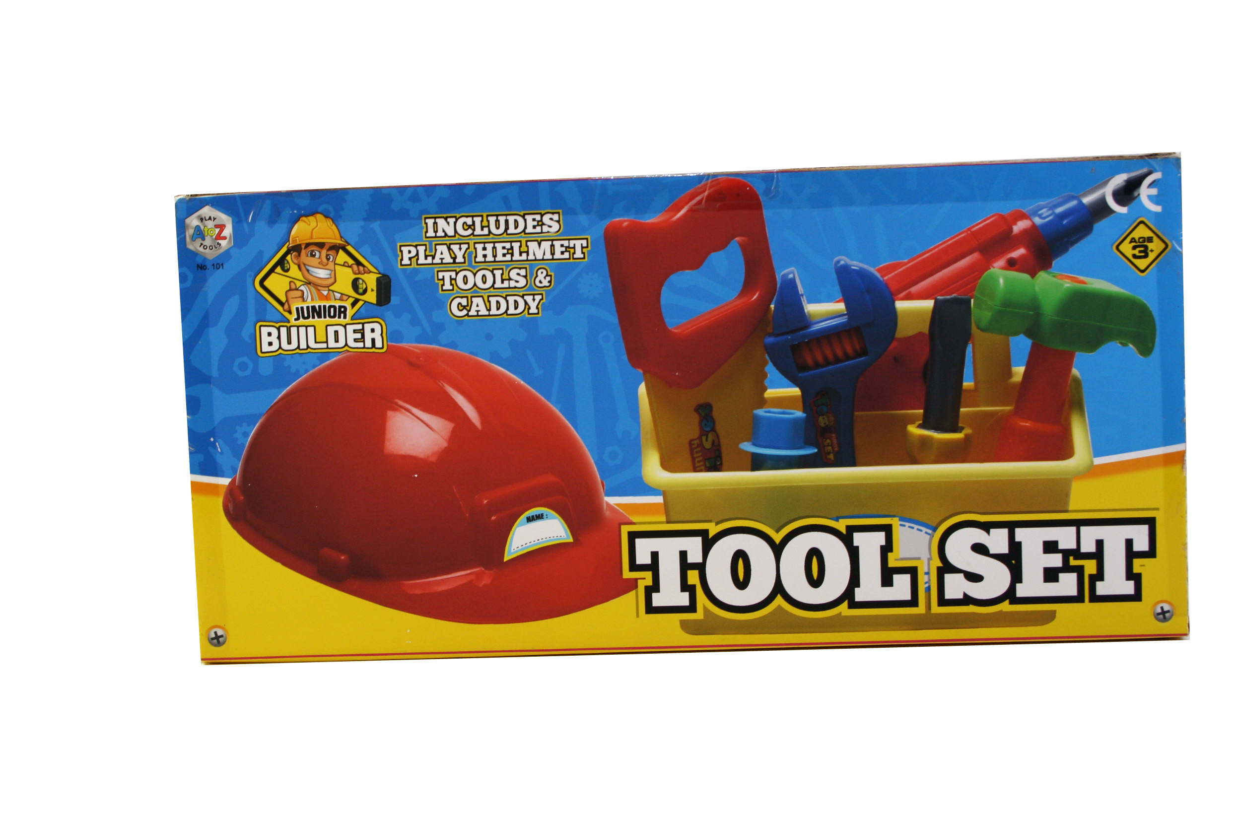 Toys A to Z Play Tools Junior Builder Tool Set