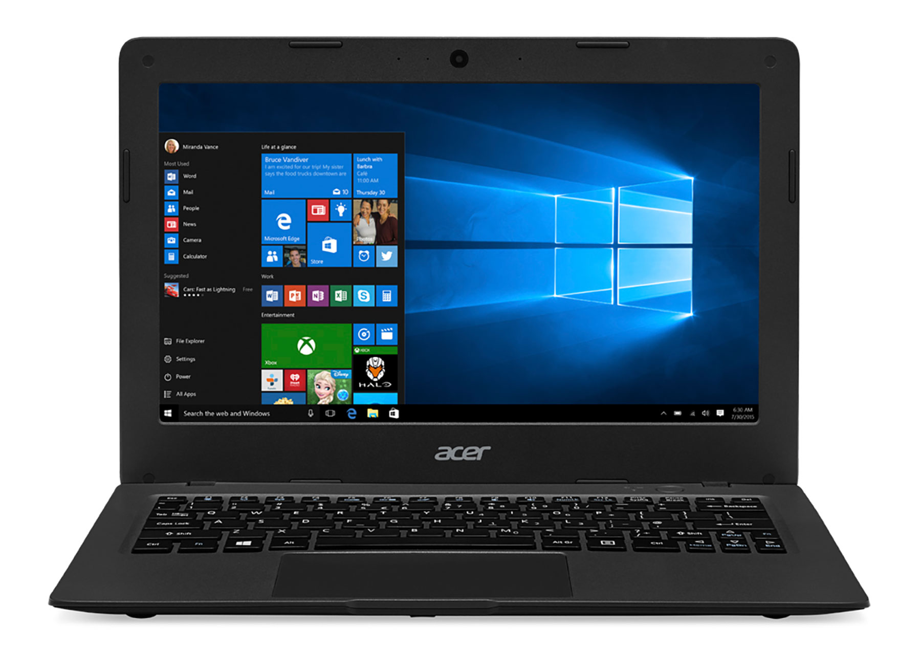 Acer AO1-431 Intel Celeron 2GB RAM 32GB SSD 14 Laptop