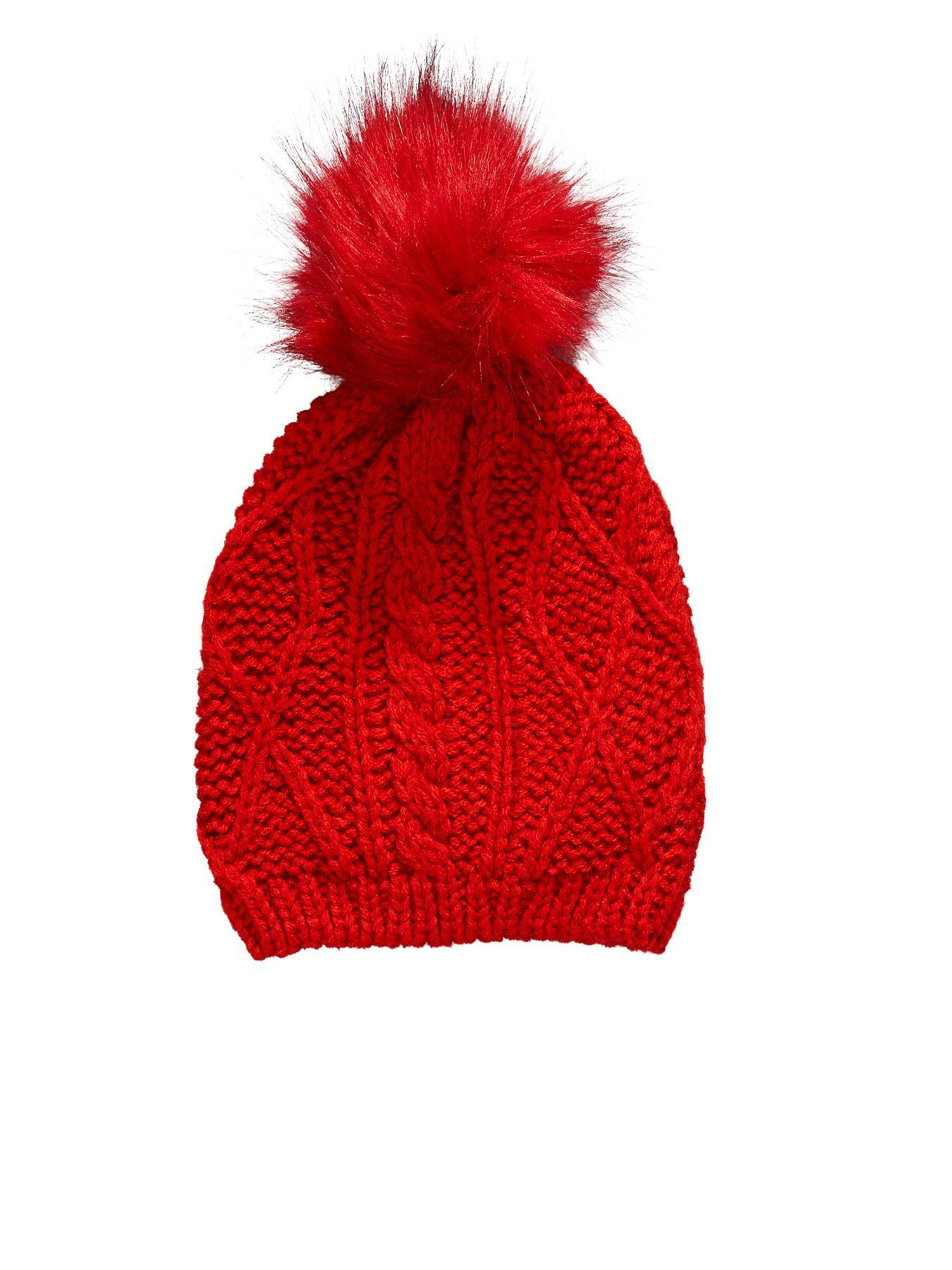 Boys Pom Pom Beanie Hat
