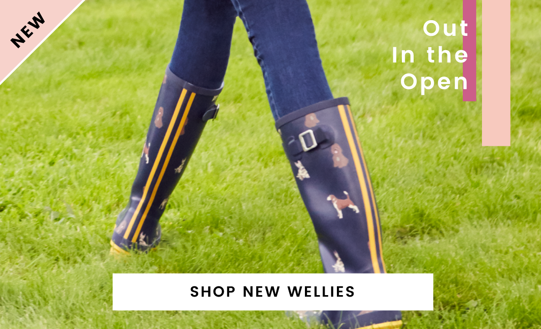 New Season Wellies Joules Hunter Le Chameau