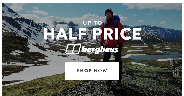 Up To Half Price Berghaus