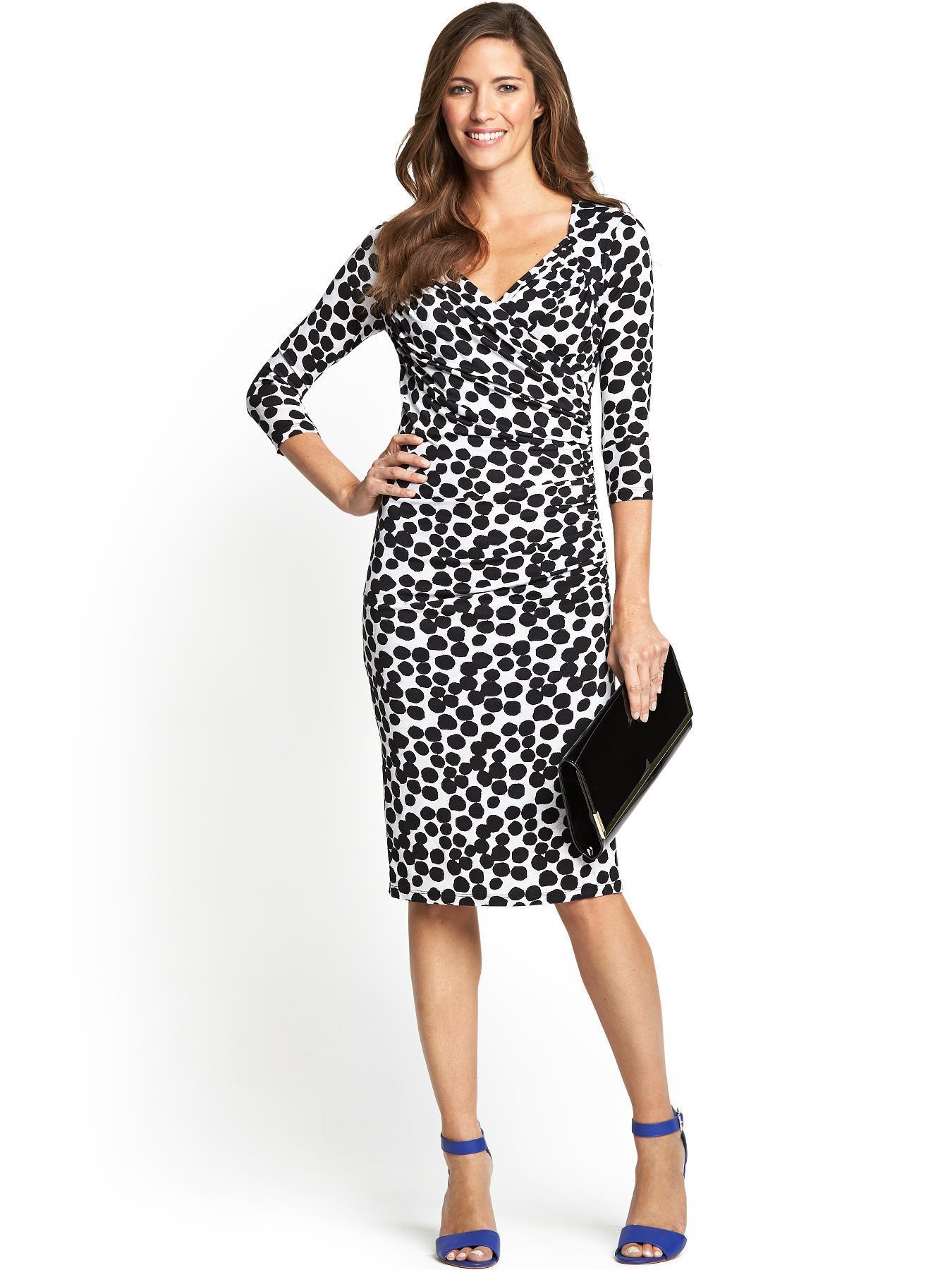 Savoir Confident Curves Mid Length Dress