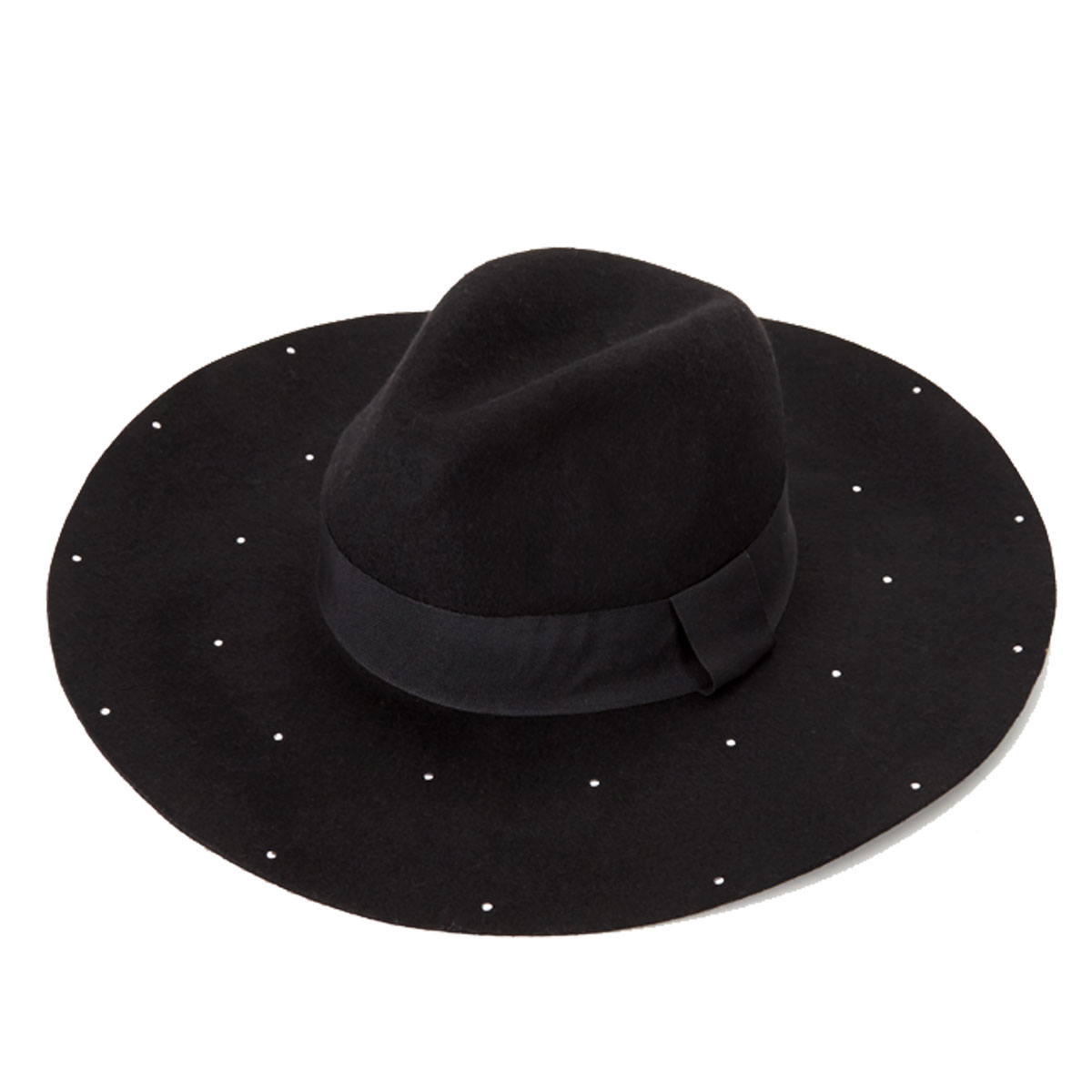 Stud Detail Floppy Hat