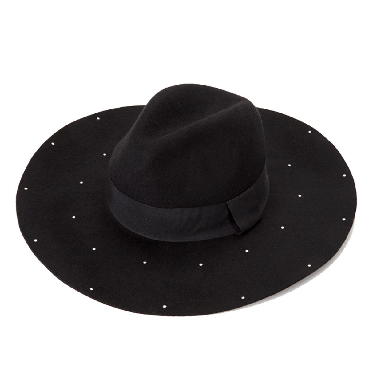 Stud Detail Floppy Hat.
