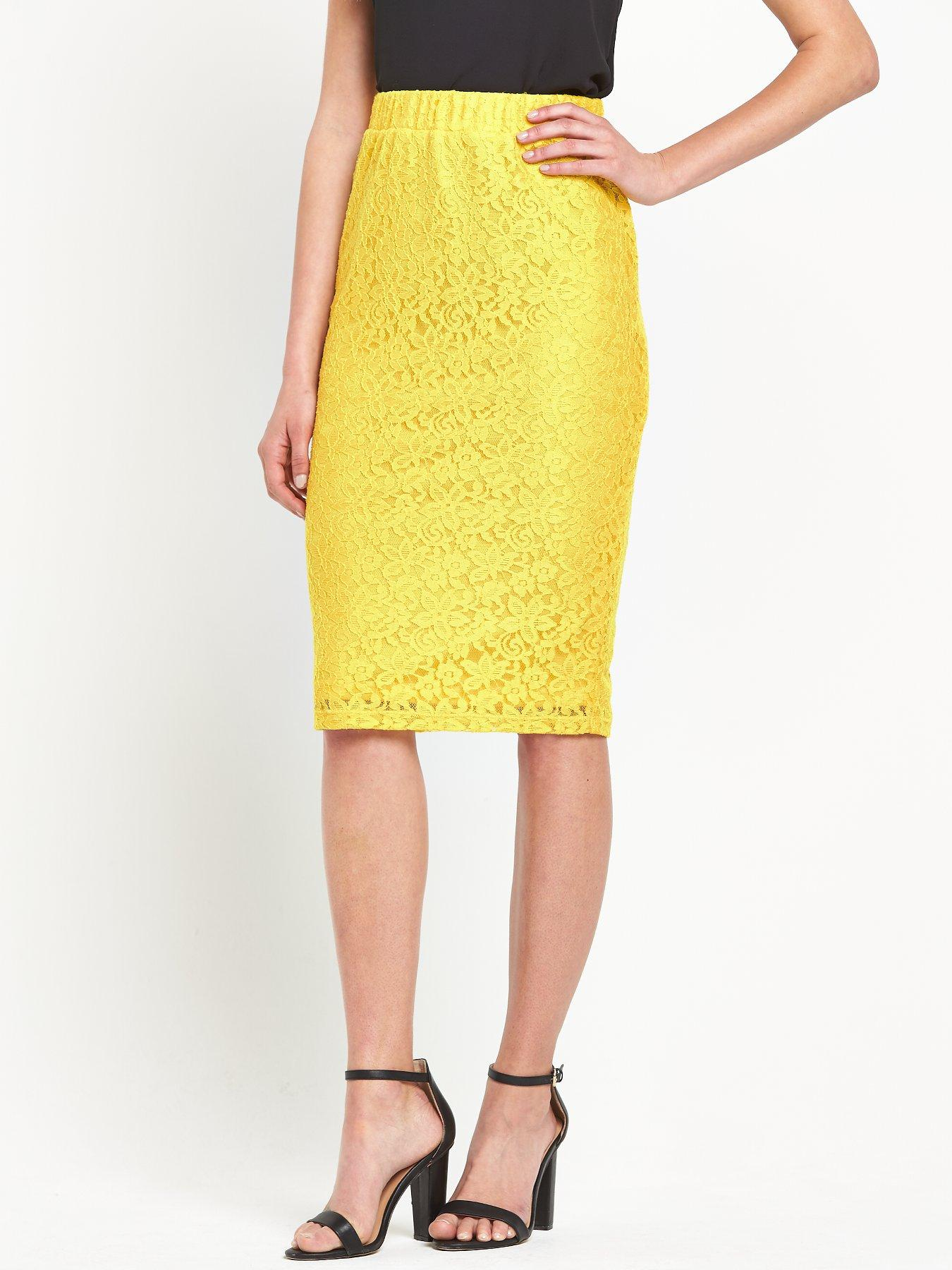 South Jersey Lace Pencil Skirt