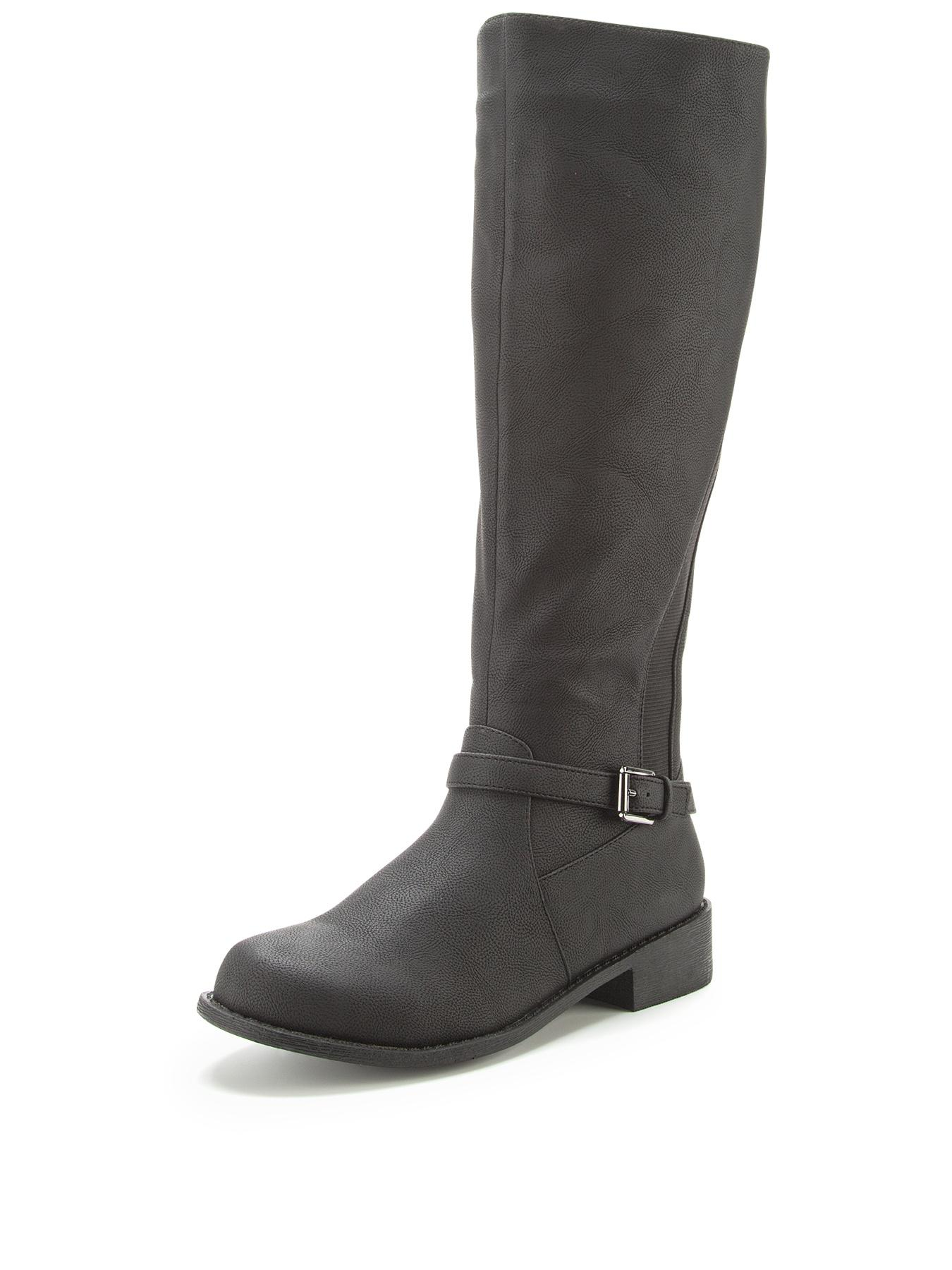 Shoe Box Abigail Elastic Gusset Riding Boots