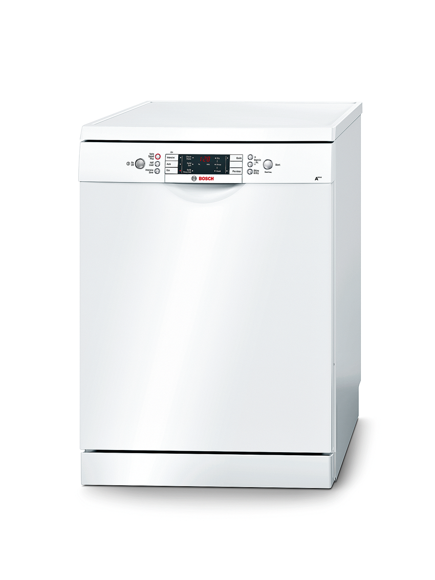 Bosch SMS58E32GB 14 Place Setting Active Dishwasher  White