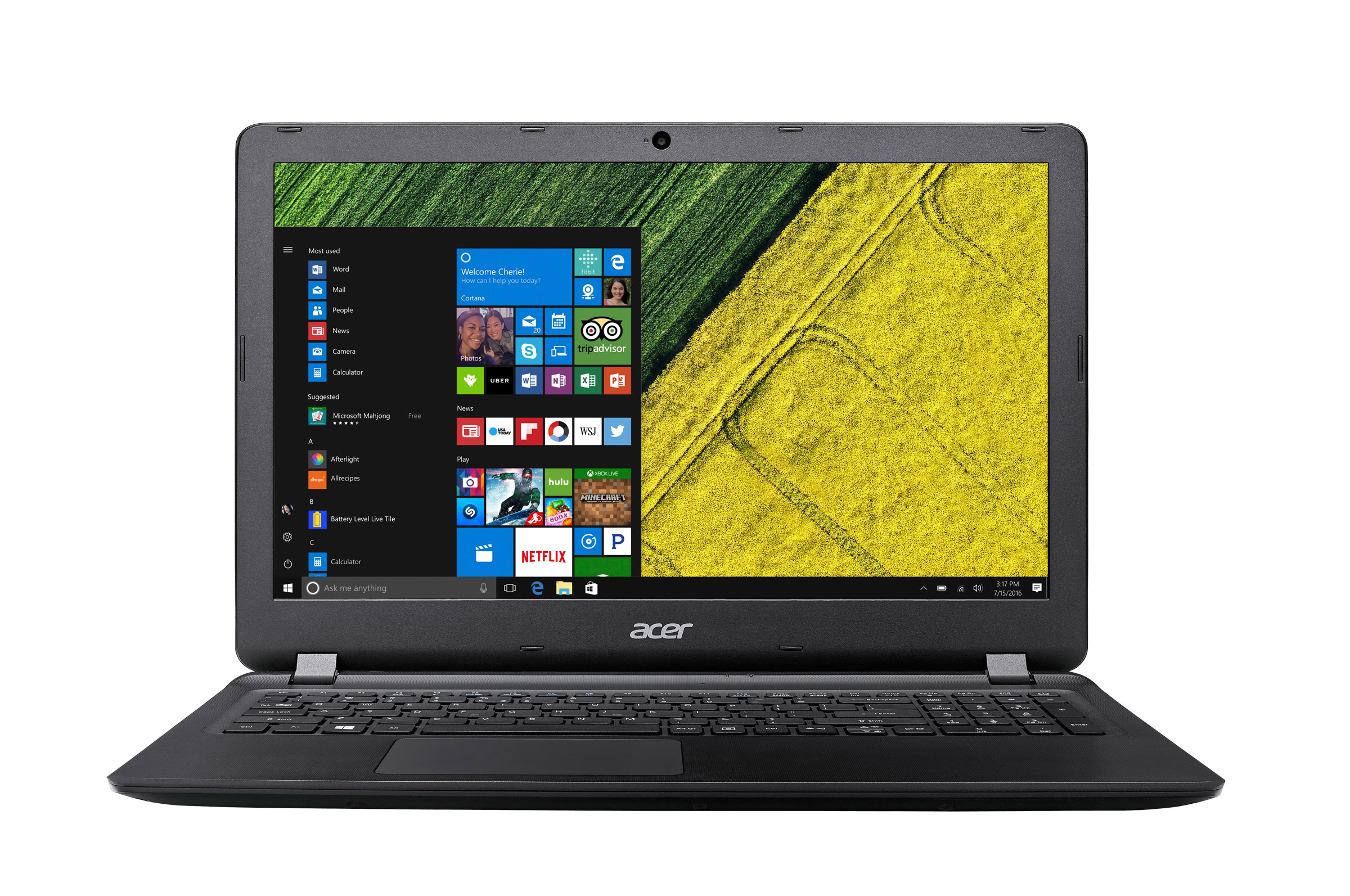 Stockists of Acer Aspire ES 15 ES1-533-C1D8 Intel Celeron 500GB HDD 4GB RAM 156 Notebook
