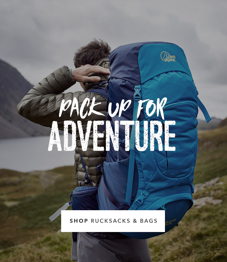 Pack Up For Adventure
