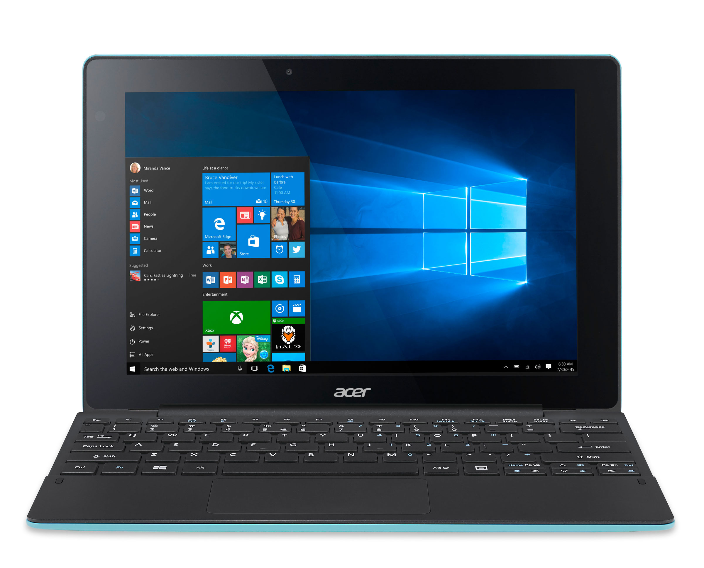 Acer Switch 10 E Intel Atom Processor 2GB RAM 32GB eMMC SSD 101 Touchscreen 2 in1 Laptop