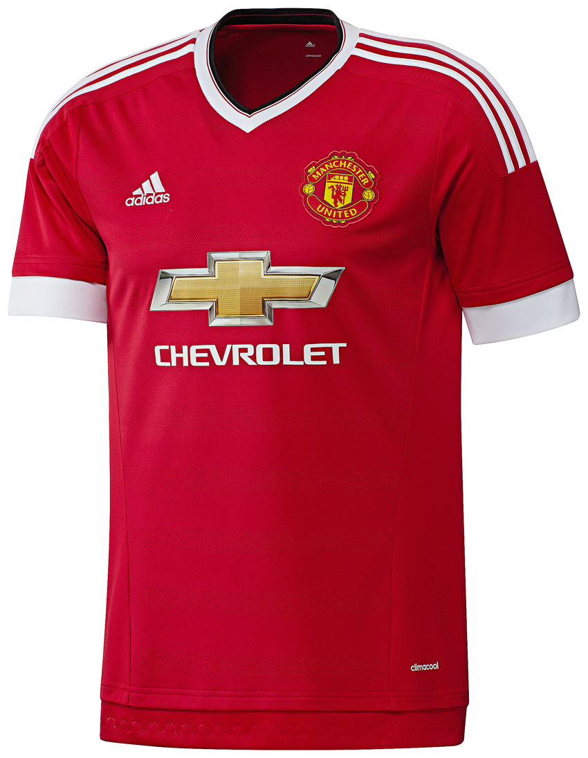 Adidas Mens Manchester United 201516 Home Shirt