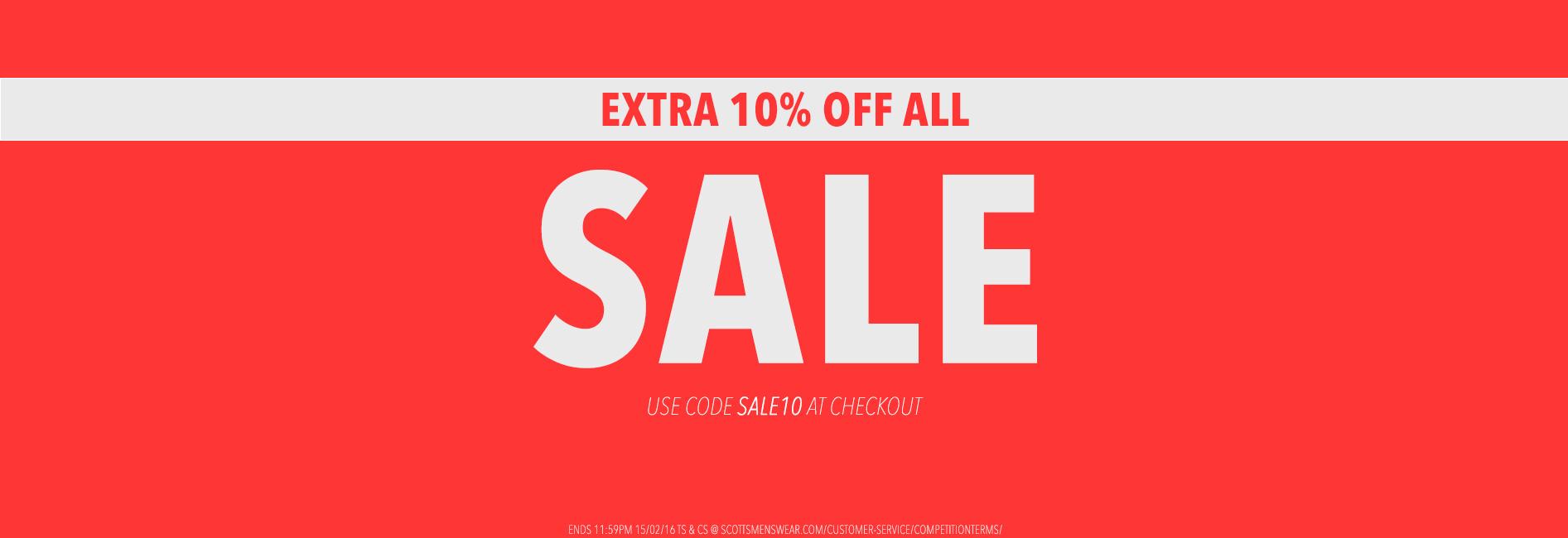 Extra 10% Sale