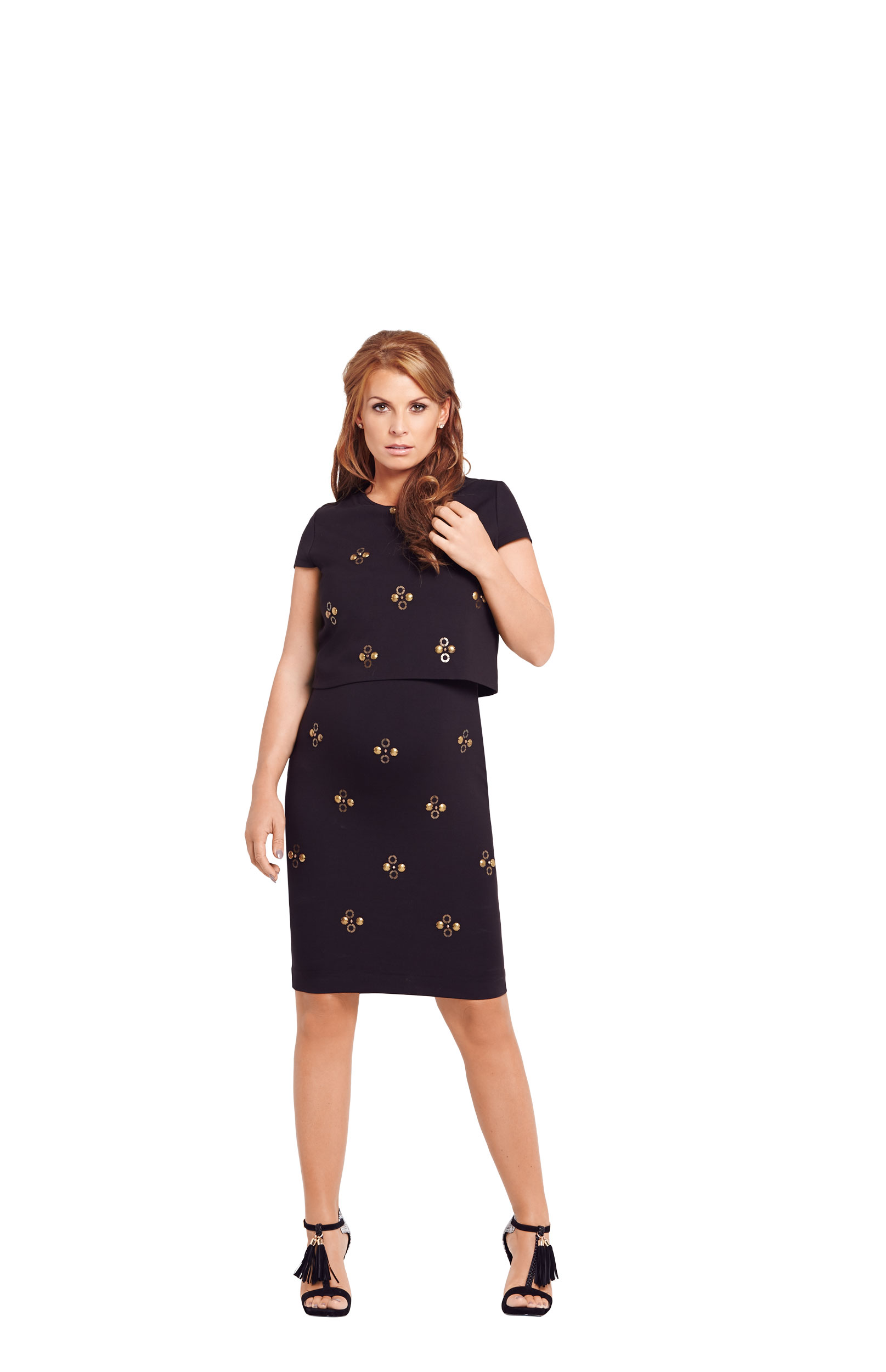 Coleen Embellished 2 In 1 Dress