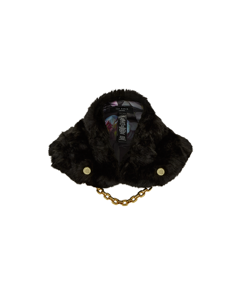 Ted Baker Faux Fur Collar Scarf