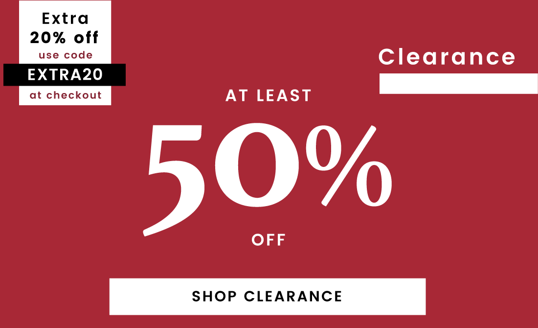 50% off Sale Clearance extra 20%off