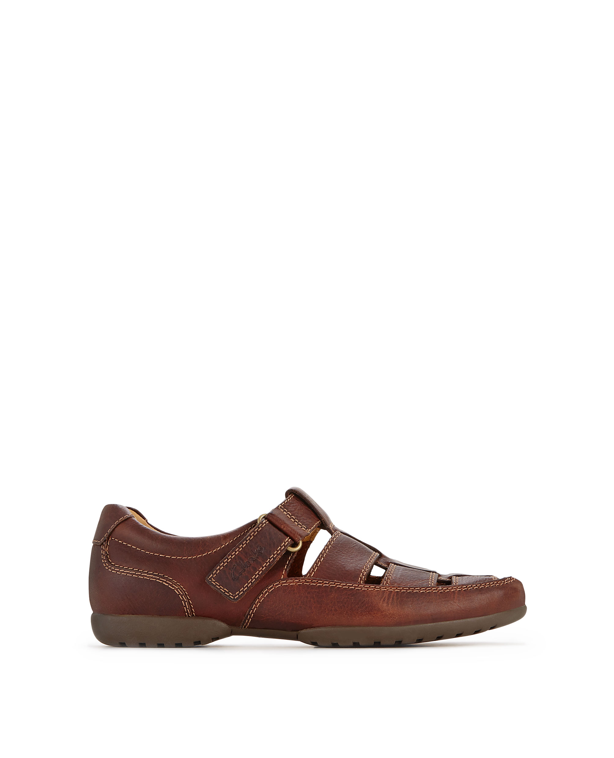 Clarks Recline Wide Fit Leather Shoes