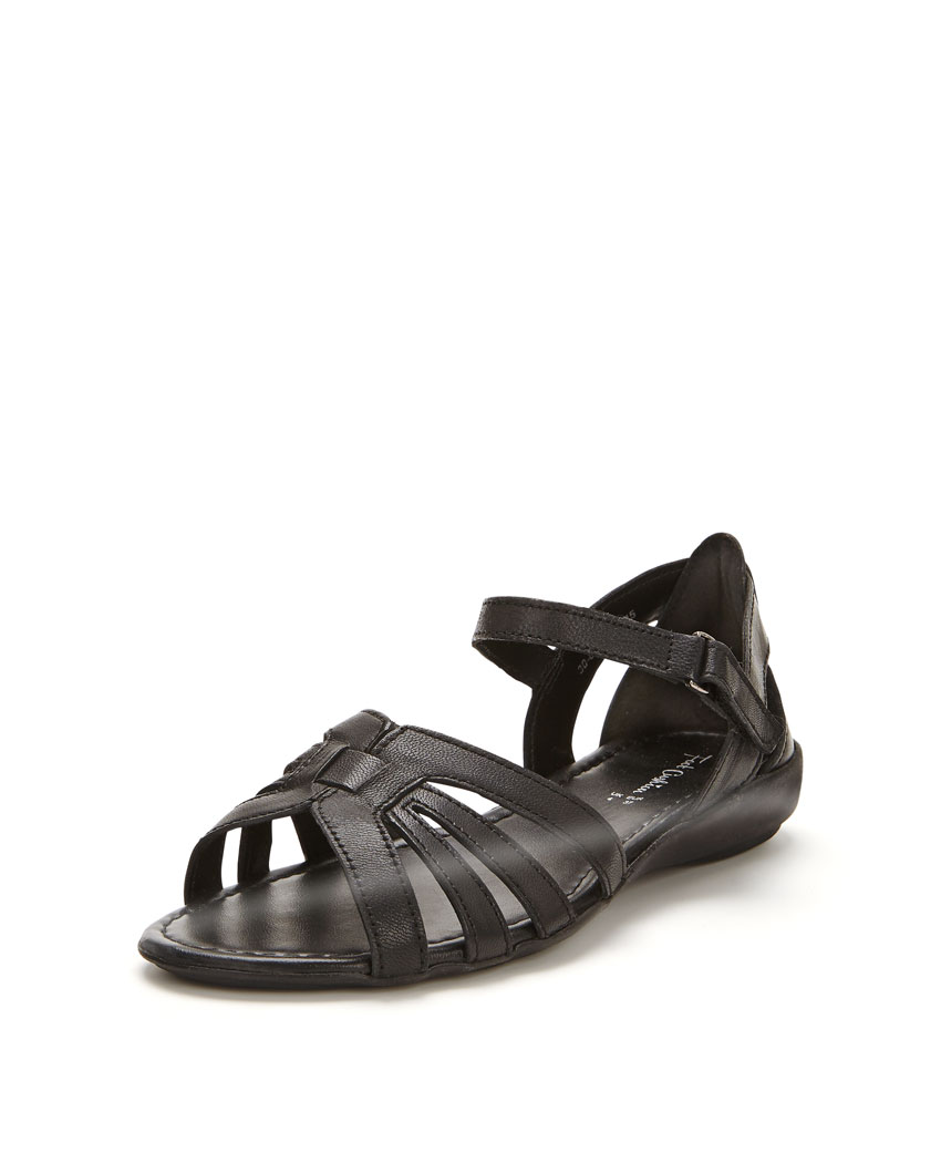 Foot Cushion Strappy Sandals