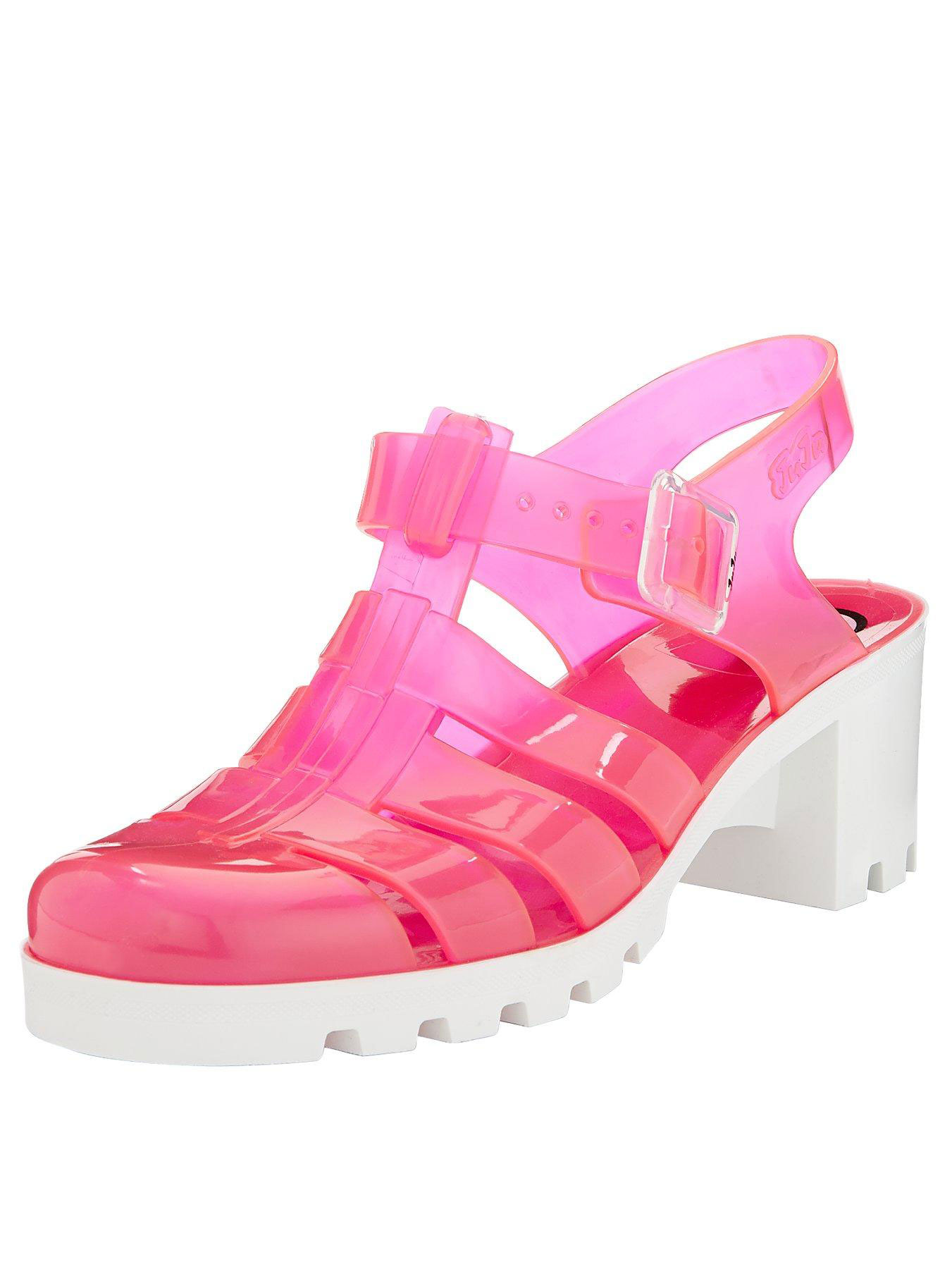 JuJu Babe Two Tone Jelly Sandals