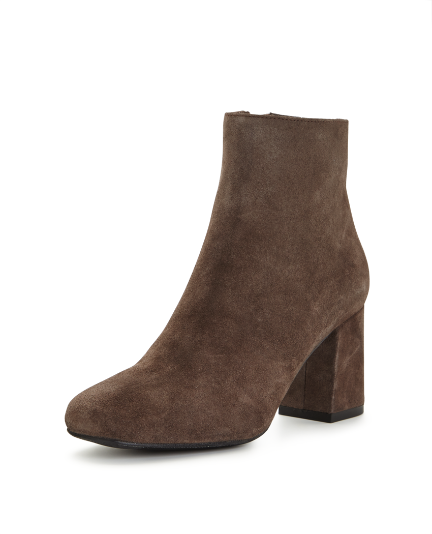 Warehouse Block Heel Ankle Boot