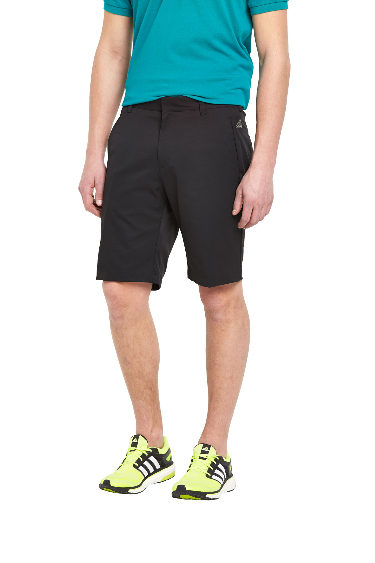 Adidas Mens Golf PureMotion 3 Stripe Shorts