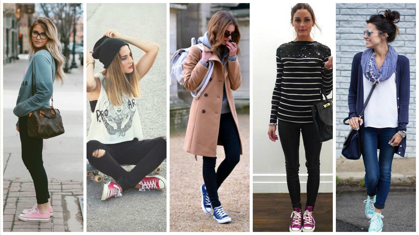 monochrome converse fashion