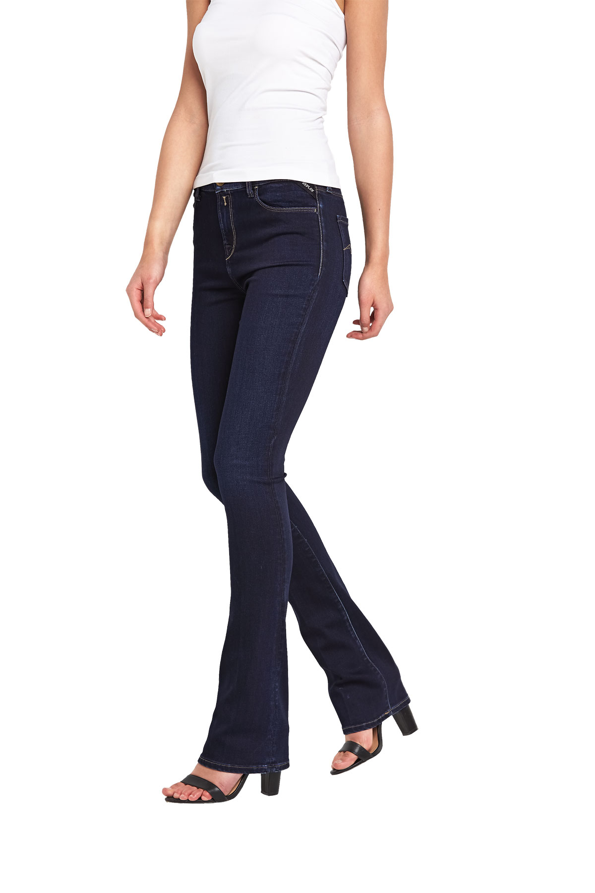Replay Miwa High Rise Bootcut Jean