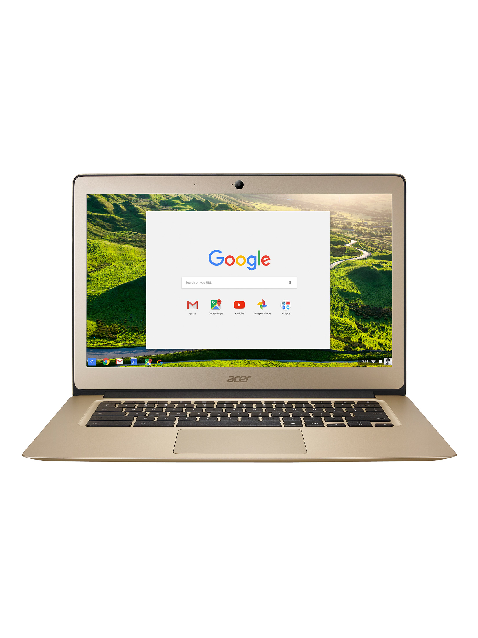 Image of Acer 14 CB3-431 Intel Celeron 2GB RAM 32GB SSD 14 Chromebook