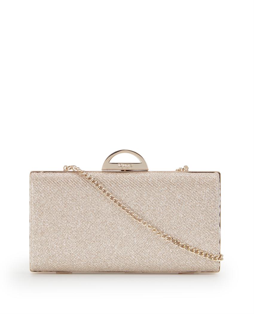 Dune Bex Sparkly Clutch Bag