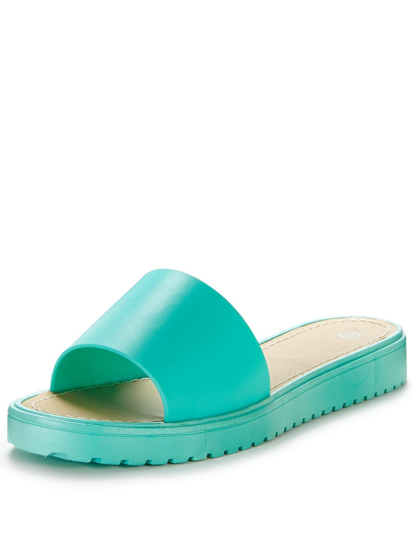 Charlie Jelly Slide Sandals