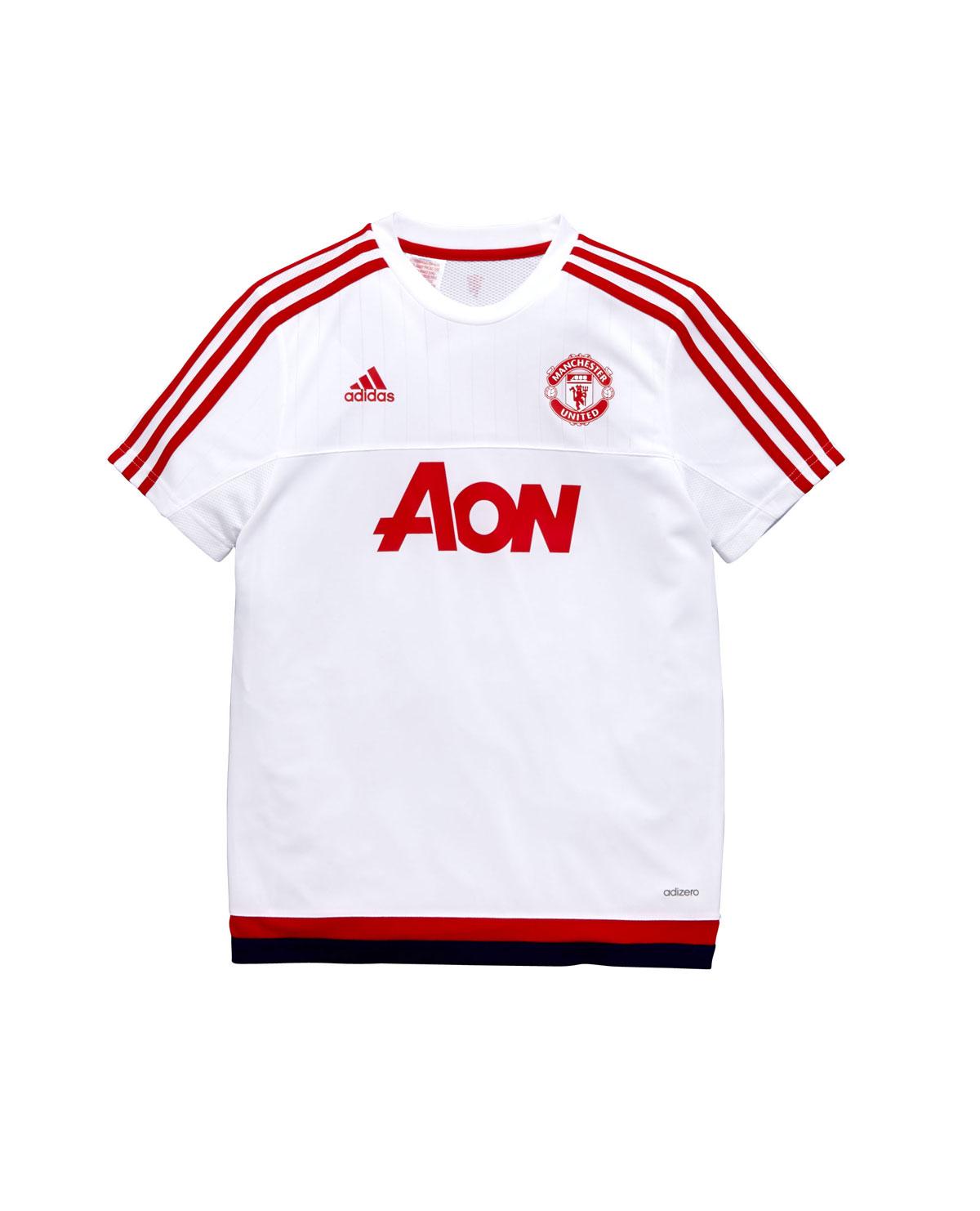 Adidas Manchester United Junior Training Jersey