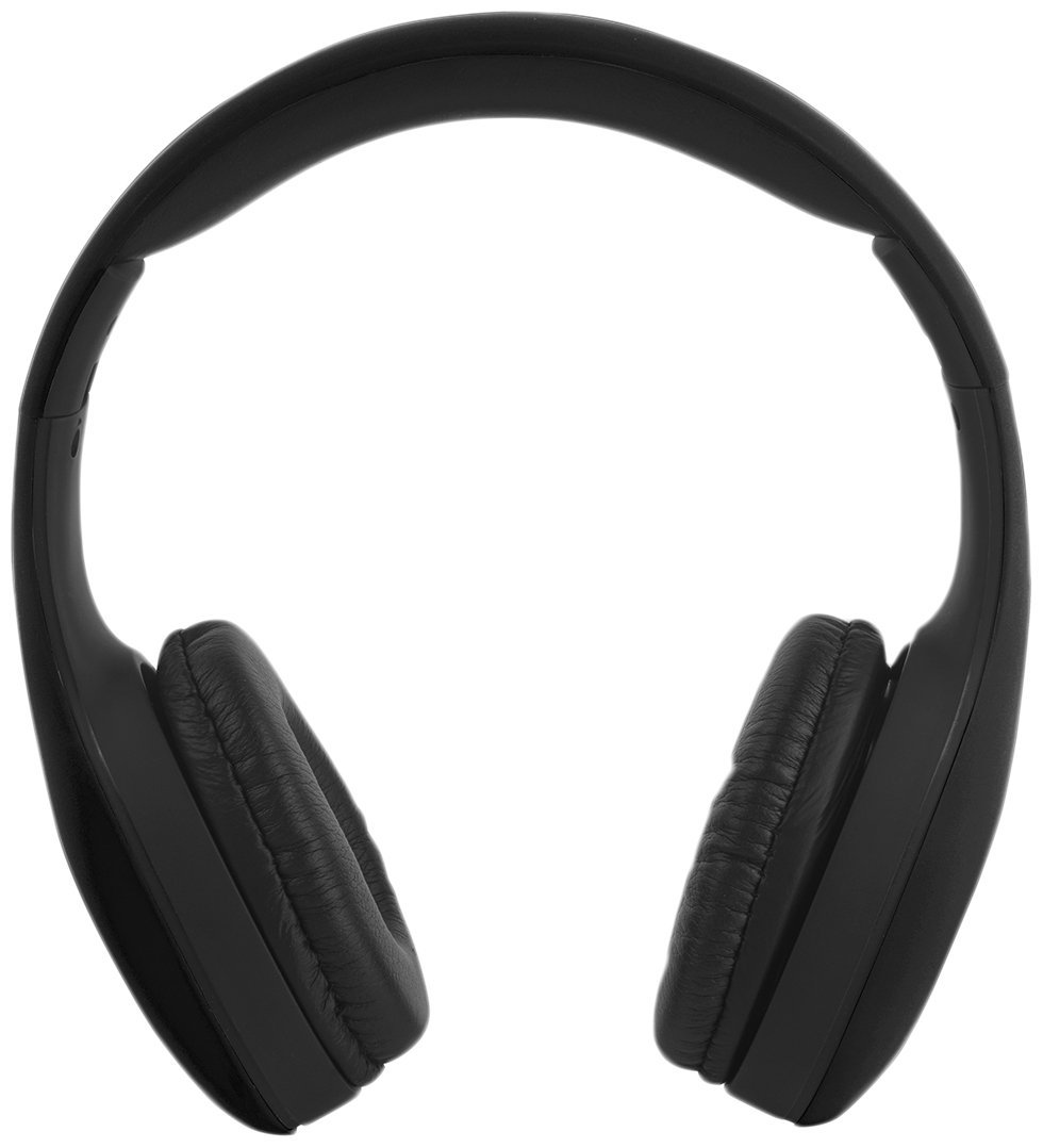 Intempo Folding OverEar Headphones Black